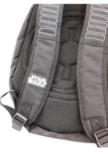 Star Wars Darth Vader 3D Molded Nylon Black Laptop Backpack Galaxy Print Movie