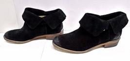 NWOB MICHAEL by Michael Kors Women's Walton Ankle Boots Black Suede Leat... - $49.45
