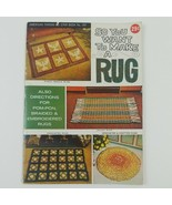 So You Want To Make A Rug American Thread Co. Star Book no. 197 booklet - $10.92