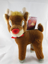 "Vintage Rudolph The Red Nose Reindeer by Applause Mint With Tags 10"" - $10.60"