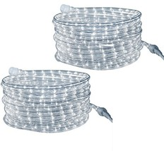 Tupkee LED Rope Light Cool-White - for Indoor and Outdoor use, 24 Feet 7... - $88.98