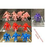 Vintage Mattel Kinnikuman M.U.S.C.L.E. Action Figures 13 Muscle Men Lot - $57.42