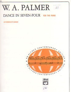 Dance In Seven-Four Intermediate Piano Willard Palmer