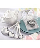 Love Beyond Measure Stainless-Steel Measuring Spoons Baby Shower Favor [... - $72.75