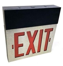 Dual Lite Spectron Excalibur Series I GMMEL-SD5 Emergency Exit Sign W/Di... - $79.99