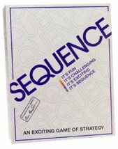 Sequence Game by Jax - Strategy Board Game [New] - $29.99