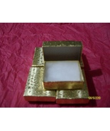 Pendant or Charm Boxes,   Gold  ( 6 ) - $6.25