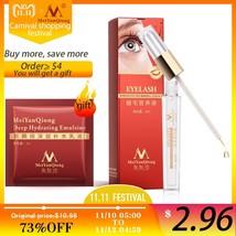 Herbal Eyelash Growth Treatments Liquid Serum Enhancer Eye Lash Longer T... - $17.50