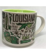 Starbucks 2018 Louisiana Been There Collection Coffee Mug NEW IN BOX - $40.97