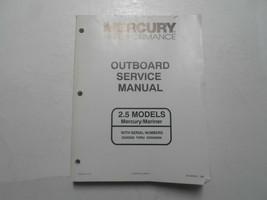 1996 mercury high performance 2.5 models borda service shop manual oem 96 - $128.83