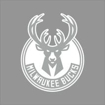 Milwaukee Bucks #2 NBA Team Logo 1Color Vinyl Decal Sticker Car Window Wall - $5.64+
