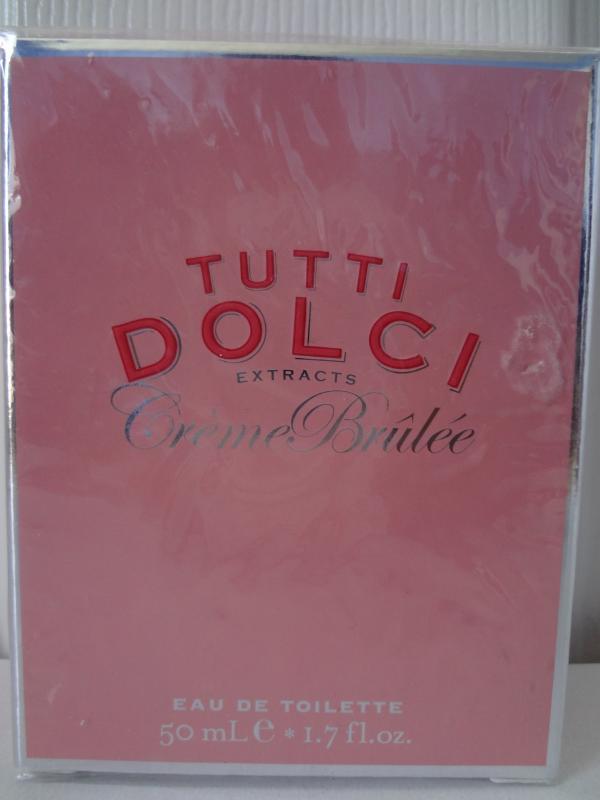 Bath & Body Works Tutti Dolci Crème Brûlée Eau De Toilette 1.7 fl oz / 50 ml