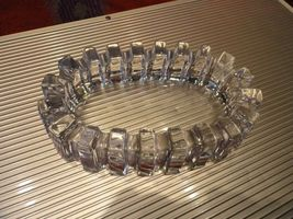 Details about  clear glass sprocket cigar ashtray - $125.00