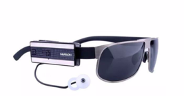 Earphone Blue tooth 4.0 headset for voriety wear ways on glasses/clothes/ear,Car - $116.99
