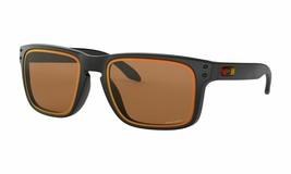 New Oakley Holbrook Sunglasses OO9102 G8 Matte Black Brown Prizm HDO Len... - $151.47