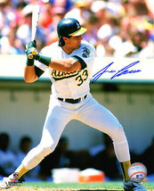 JOSE CANSECO Signed Oakland A's Batting Action 8x10 Photo - SCHWARTZ - $58.41