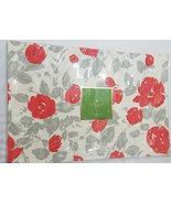 Kate Spade Garden Rose Gray and Coral Floral Placemats 4 - $26.00