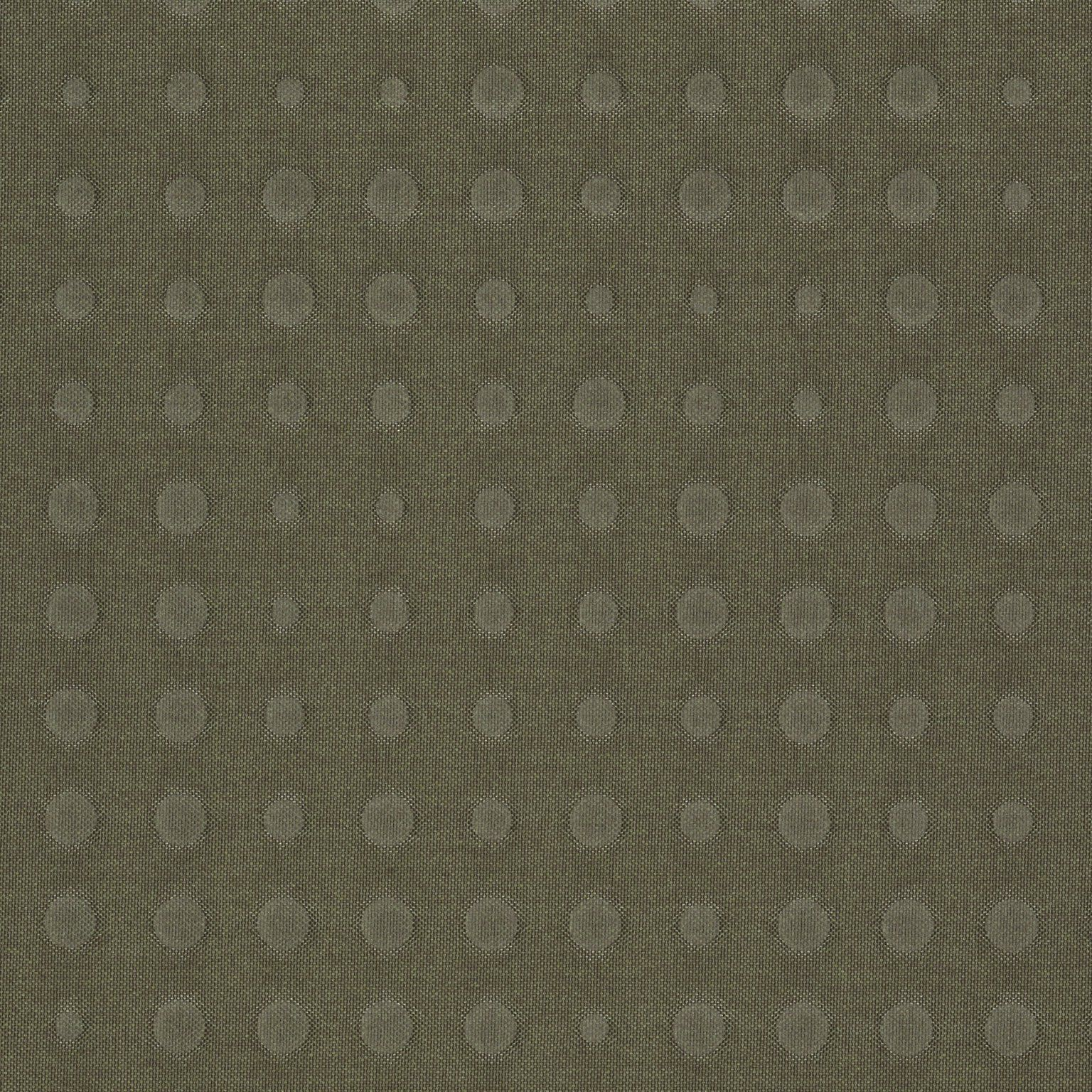 Kvadrat Upholstery Fabric Highfield Army Green Quilted Dots 3.125 yards 864 R