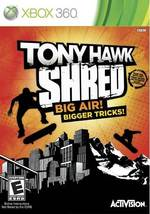 TONY HAWK:SHRED (SW ONLY)(BOARD REQUIRED TO PLAY)  - Xbox 360 - (Brand New) - $59.05