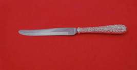 """Repousse by Kirk Sterling Silver Steak Knife rounded beveled blade 9"""" - $79.00"""