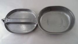 US Military USGI Vietnam War Issue Mess Kit - Pan Pot Plate - S/L Mfg 19... - $22.23