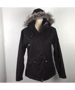 Surfanic Technical Womens Small Black Snow Winter Jacket Coat Removable ... - $73.20