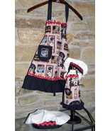 """Dolly and Me Girls and 18"""" soft body Doll Apron... - $30.00"""