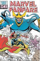 Marvel Fanfare Comic Book #8 Marvel Comics 1983 NEAR MINT NEW UNREAD - $4.50