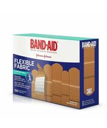Band-Aid Brand Flexible Fabric Adhesive Bandages 100 Count New Johnson &... - $14.98