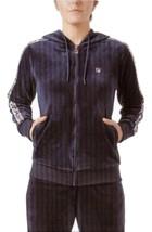 Fila Marybeth Ladies Velour Jacket (Navy Blue) - $20.69
