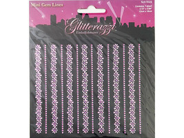 MultiCraft Imports Glitterazzi Rhinestone Stickers #MZ051F