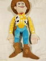 "Disney Pixar Toy Story Woody Cowboy Plush Stuffed Toy Large 10 x 24"" Jay... - $48.99"