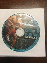 BEACHBODY INSANITY MAX 30 REPLACEMENT DISC DVD CARDIO CHALLENGE & AB ATT... - $14.46