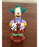 2002 The Simpsons Krusty The Clown Replacement Chess Piece Figurine Brow... - $7.25