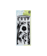 Inkadinkado Asian by Design Clear Cling Stamp Set #98606 - $10.75