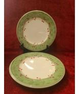 "Lenox Holiday Gatherings Damask Set of 2 Salad Plates  9 1/4"" - $33.65"