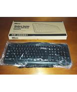 NEW iMicro Modern Series Black 107-Key USB Wired Keyboard - $12.95