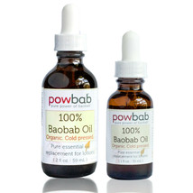 powbab 100% Baobab Oil Cold Pressed, Pure Essential Skincare Beauty, Org... - $17.81+