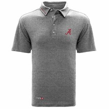 Alabama Crimson Tide NCAA Men's Reign Wordmark Polo Shirt, Small, NWT