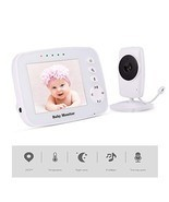 "MEIWU Baby Monitor, 3.2"" Baby Video Monitor with Camera and Audio LCD Sc... - $110.73 CAD"