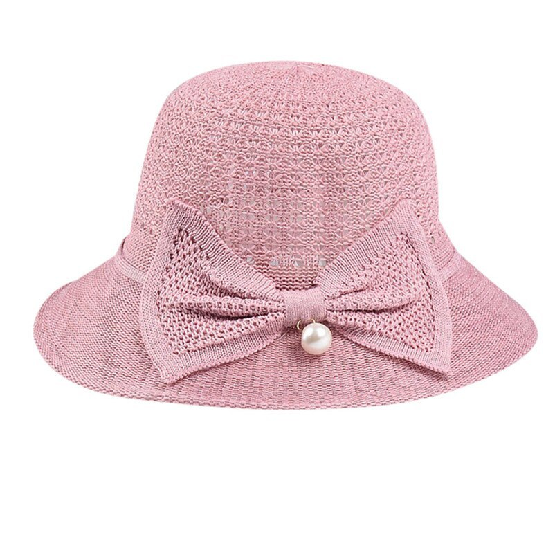 Sun Hats For Women Casual Sunscreen Solid Wide Breathable Brimmed Floppy Foldabl image 4