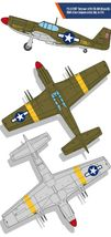 Academy 12338 USAAF P-51 North Africa Airplane Plastic Hobby Model Kit image 3