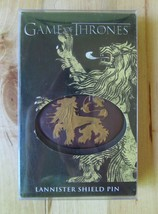 HBO Dark Horse Game Of Thrones Lannister Lion Sigil Shield Badge Pin Col... - $19.95