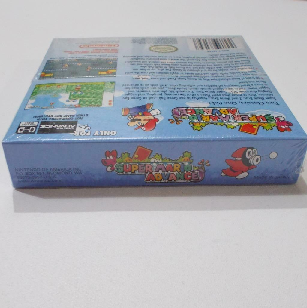 Super Mario Advance Nintendo Game Boy Advance 2001 Sealed