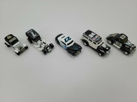 Lot Of 5 Hot Wheel Cop Rods Way Fast Roadster Indianapolis Jefferson Cit... - $54.40