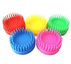 10 Packs Plastic Hair Brush Hard Tooth Shampoo Scalp Massage Combs Reusa... - $29.07