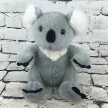 Build-A-Bear Workshop Koala Bear Plush Gray Soft Sitting Stuffed Animal Toy - $14.84