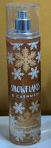 BATH & BODY WORKS SNOWFLAKES & CASHMERE FINE FRAGRANCE MIST SPRAY 8oz - $19.45