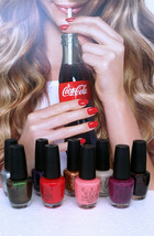 OPI nail polish  *Coca Cola* Collection - Choose Your Colors - $7.25