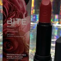 """NEW IN BOX Bite Beauty Amuse Bouche Full Size """"Damask"""" Lipstick 4.35g image 2"""